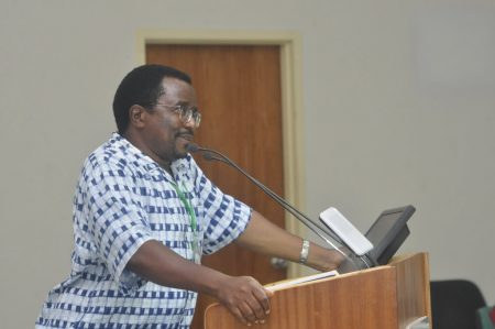 David Chikoye gives an overview on the status of research on plant production and health.