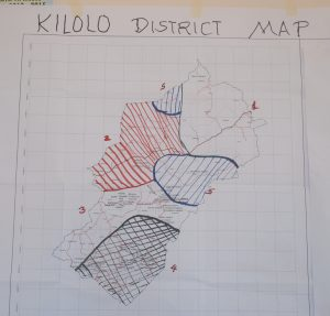Picture of Kilolo district with five distinct zones