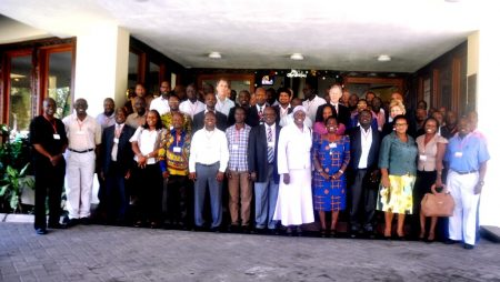 Picture of participants at the CGIAR Site Integration Workshop, Tanzania.
