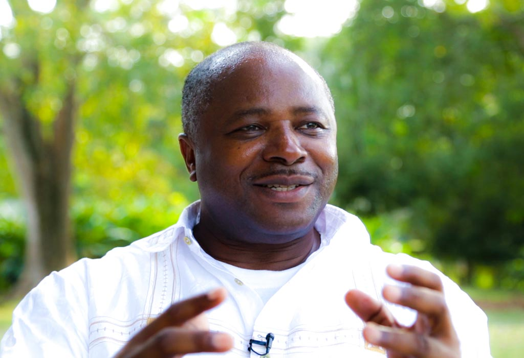 Picture of IITA Director General Nteranya Sanginga