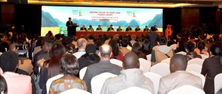 The First World Congress on Root and Tuber Crops held in Nanning, China,