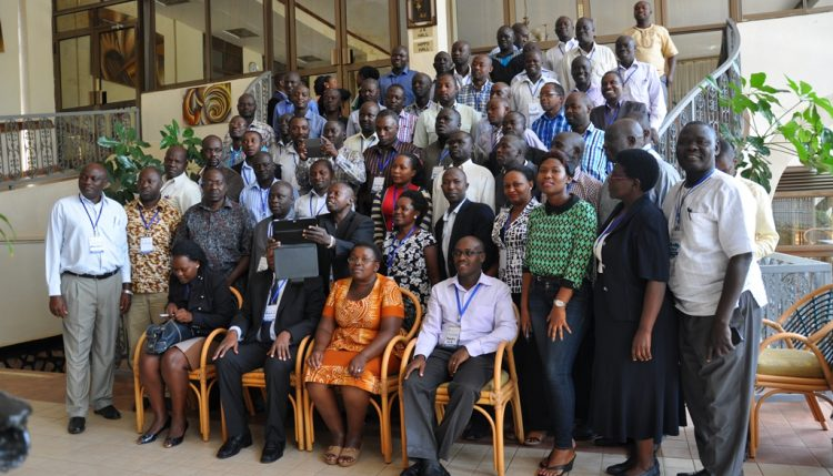 Picture of Group photograph of participants at the workshop