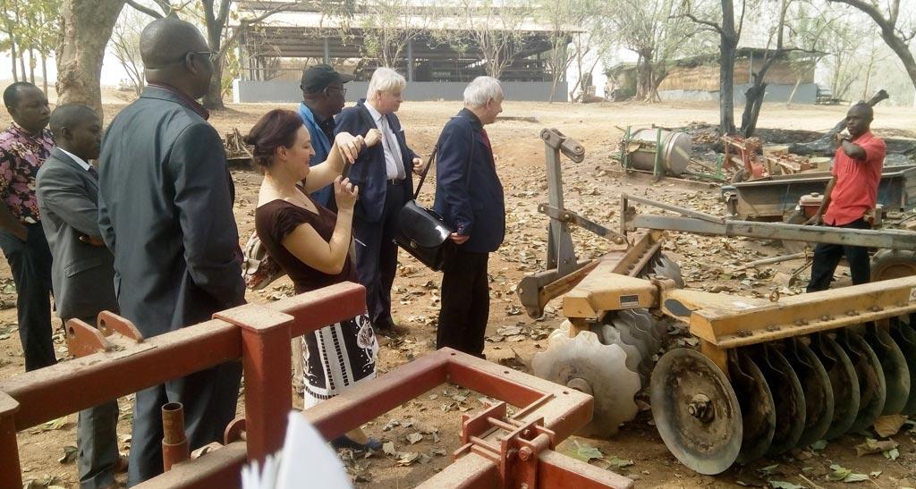 Polish investors went around the IITA-Abuja station.