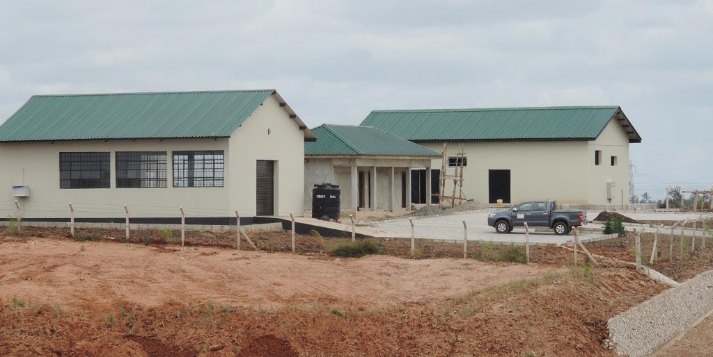 New cassava processing facilities in Kwembe, Tanzania.