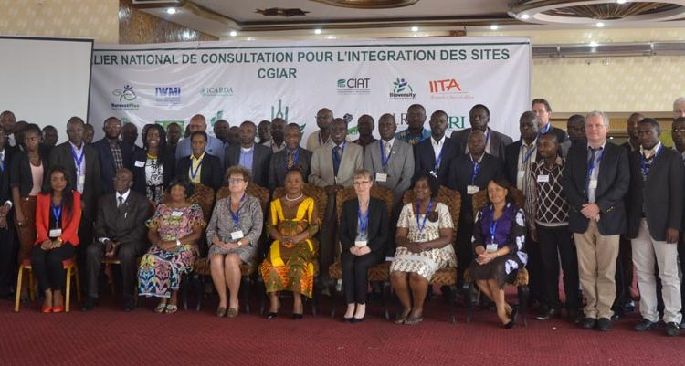 Picture of DRC site integration workshop participants