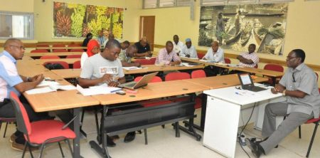 Picture of Syngenta participants during the training session