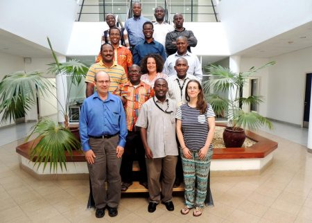 Picture of Cassava breeders in East Africa hub.