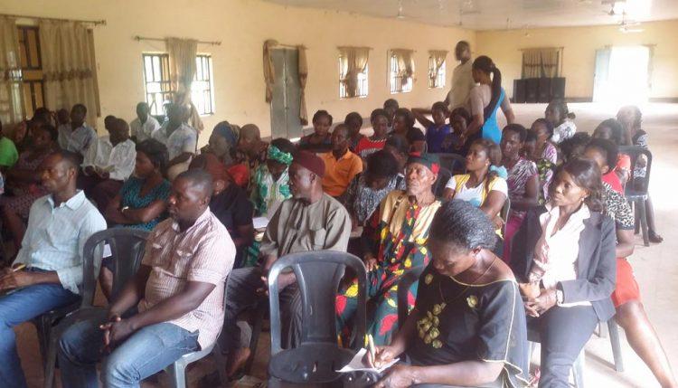 Picture of Workshop participants.