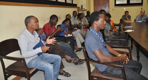 A cross section of the audience during IARSAF seminar