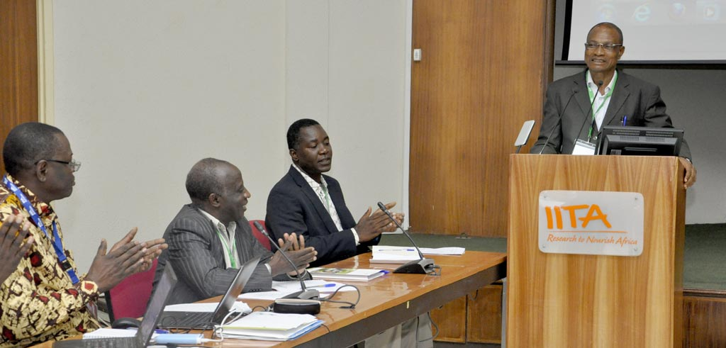 Picture of Dr Jonas Chianu, Principal Agricultural Economist, AfDB and TAAT Task manager