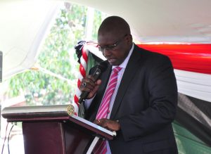 Picture of Eliud Kiplimo Kireger, the Director General/CEO of KALRO.