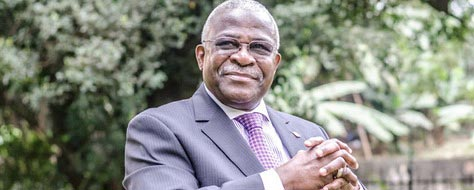 Picture of IFAD President, Kanayo Nwanze
