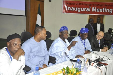 Picture of Former Pres. Obasanjo leads lawmakers and policymakers in developing a roadmap to ensure that Nigeria attains zero hunger by 2030