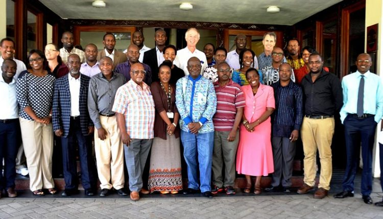 Picture of Participants to the science day in Tanzania.