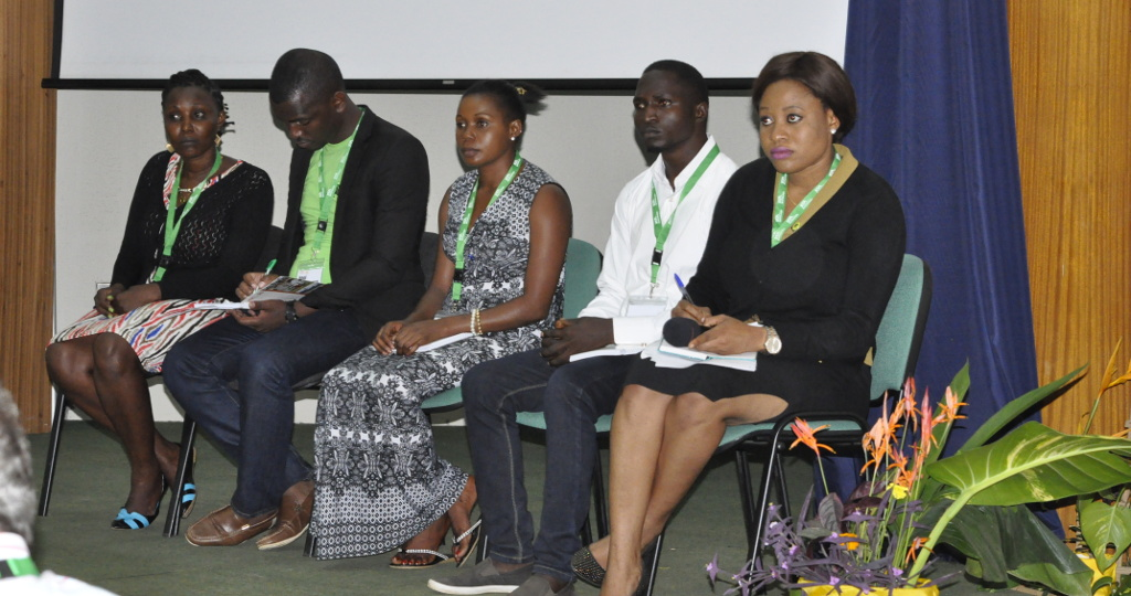 Picture of Agripreneurs from all IITA hubs talk about their activities in Africa.