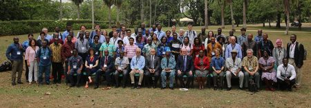 Picture of Group photo of NextGen cassava participants attending the annual meeting in Ibadan