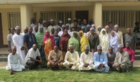 Group photo of the participants in Kano.