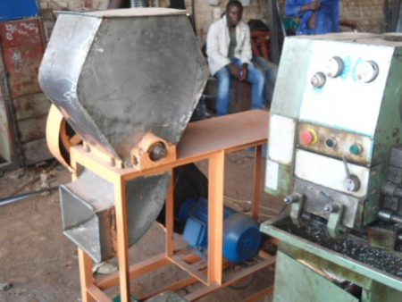 Picture of cassava processing machinary
