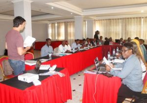 Picture of a ACAI training of classroom session