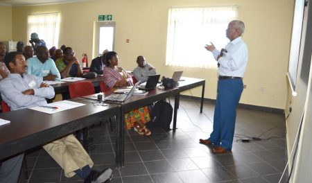 Picture of STMA holds annual planning meeting in IITA, Ibadan, Nigeria.