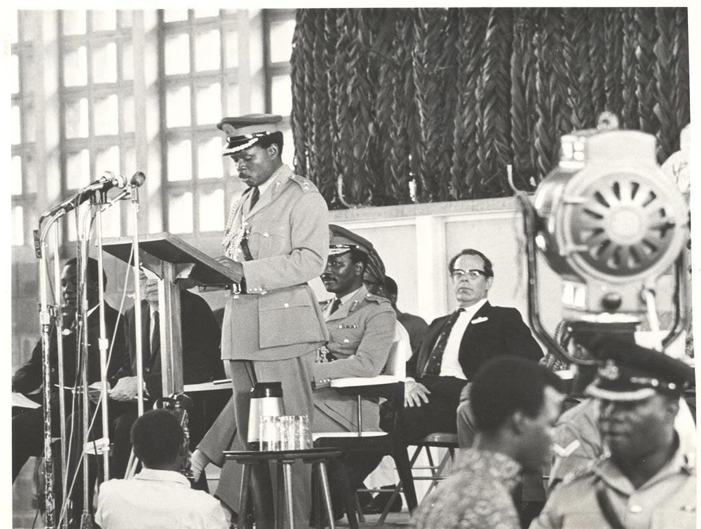 Picture of Gen. Yakubu Gowon, Head of State, 1966-1975.