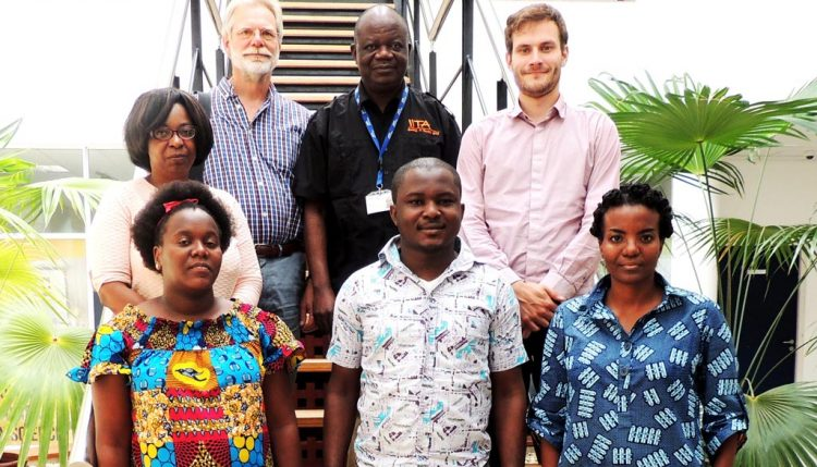 Picture of workshop participants in East Africa Hub.