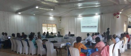 Picture of participants at the CBSD Workshop, DR Congo.