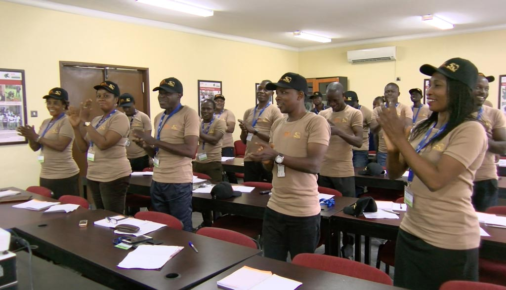 Picture of Participants at the small-scale mechanization training.