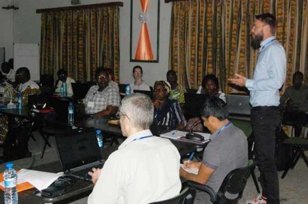 Picture of BIMAF offers the first ever training for national partners on how to deal with climate change challenges.