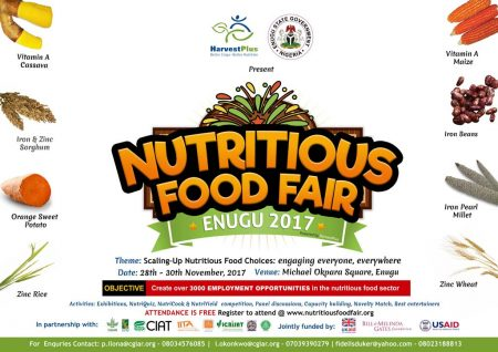 Picture of Nutritious Food Fair poster