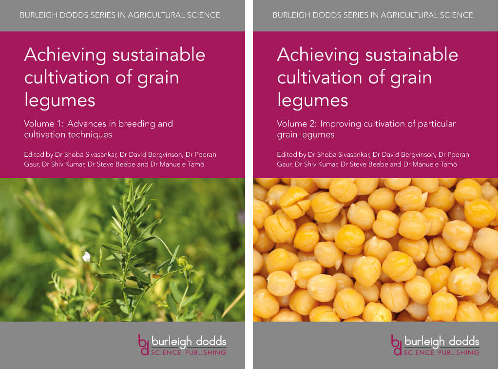 Picture of Achieving sustainable cultivation of grain legumes Volume publications