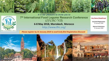 Picture of 7th International Food Legume Research Conference (IFLRC-VII) poster