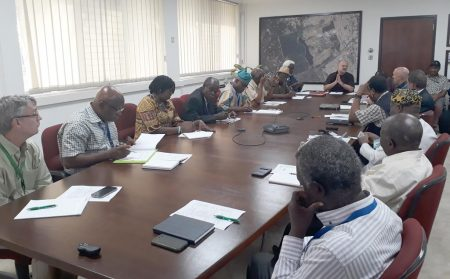 Picture of Kenton Dashiell and IITA team host the NABG team in Ibadan
