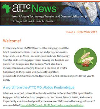 ATTC News Issue 1.
