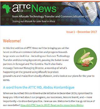 ATTC News Issue 1.