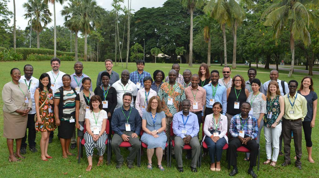 Group photograph of the workshop participants at IITA Ibadan