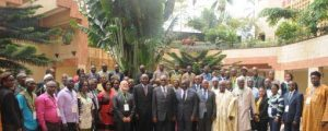 Picture of participants at the FAW meeting