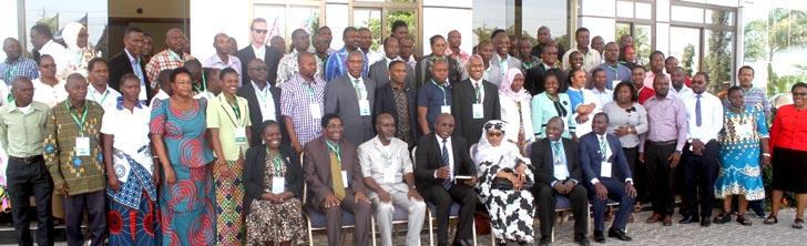 Picture of participants at the cassava stakeholders meeting in Tanzania