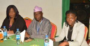Picture of Dr Busie Maziya-Dixon, Prof I.A. Adeyemi, and Dr Olutayo Adeyemi.