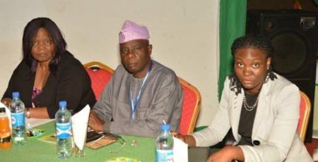 Picture of Dr Busie Maziya-Dixon, Prof I.A. Adeyemi, and Dr Olutayo Adeyemi.