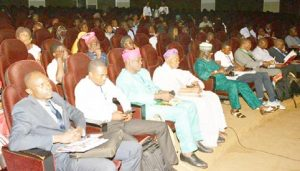 Picture of Dr Dare Akerele, Yusuf Adekunle, with the audience during the Session