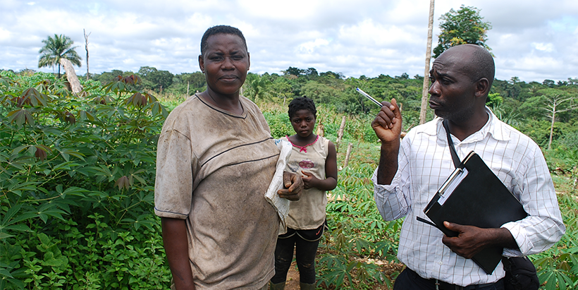 PIDMA delivers technologies to farmers' organizations for sustainable cassava and maize production in Cameroon