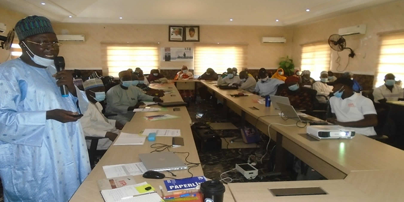 IITA trains extension agents and agro-input dealers on Integrated Pests Management for cowpea production