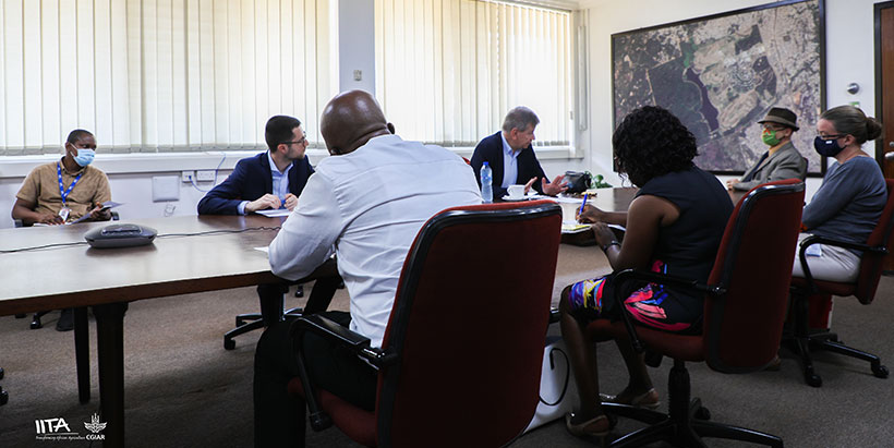 IITA's work, fundamental for Africa's stability and development– Belgian Ambassador