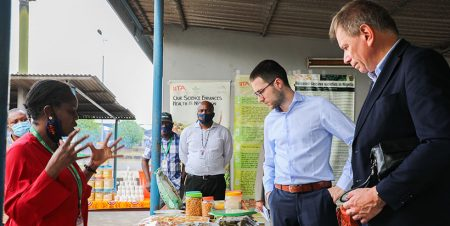 IITA's work, fundamental for Africa's stability and development– Belgian Ambassador