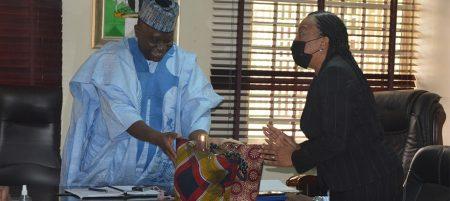 Nigeria's broadcast body assures IITA of continued support