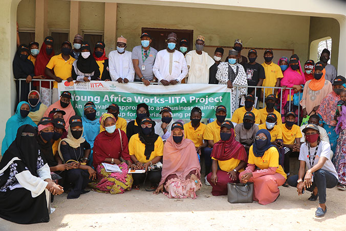 Young Africa Works-IITA Project trains over a thousand youth in three centers across Nigeria