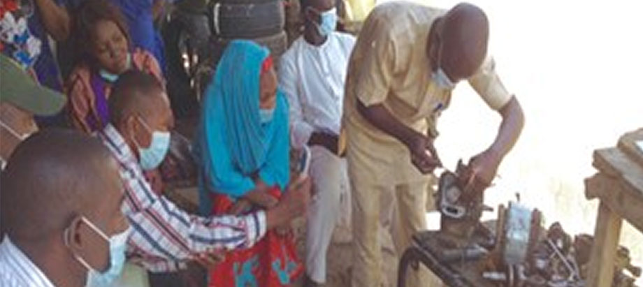 Women and youth trained on farm mechanization in northeast Nigeria