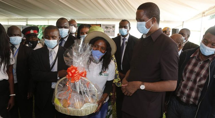 Zambian President commends IITA's youth-in-ag initiative