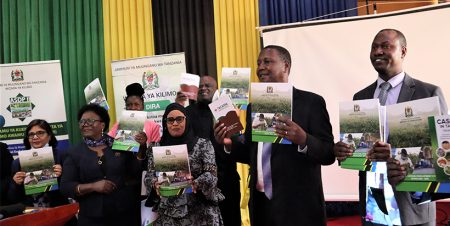 IITA partners in launch of Tanzania's national cassava strategy